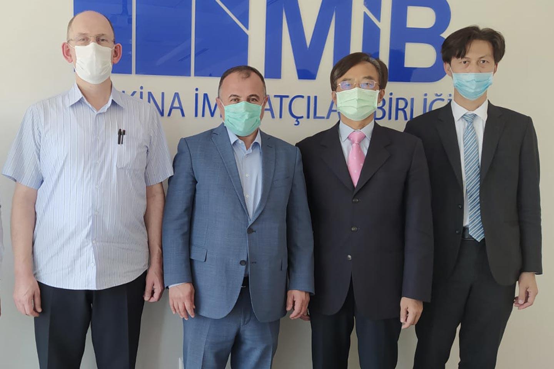 Tayvan Ankara Temsilciliği MİB'i Ziyaret Etti